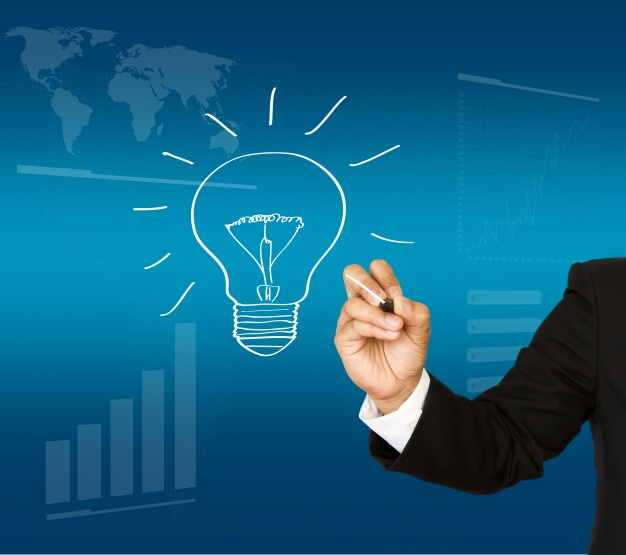 executive-with-an-hand-drawn-light-bulb_1232-169