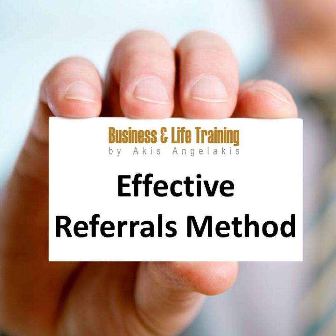 Αποτελεσματική Λήψη Συστάσεων για ασφαλιστικούς διαμεσολαβητές -ERM Effective Referrals Method Webinar